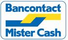Belgische klanten betalen met Mister Cash (Bancontact/MisterCash)